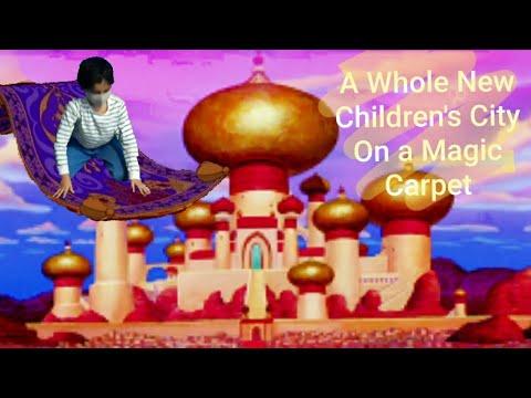 A Whole New World on a Magic Carpet – Children's City Dubai  RAS Kingdom