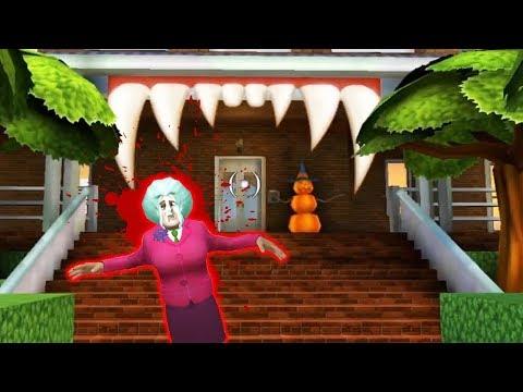 Злая Бабка Учительница Мисс Ти НОВЫЙ ДОМ! - Scary Teacher 3D