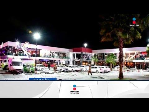 Explosión en plaza comercial, locales se incendian | Noticias con Francisco Zea