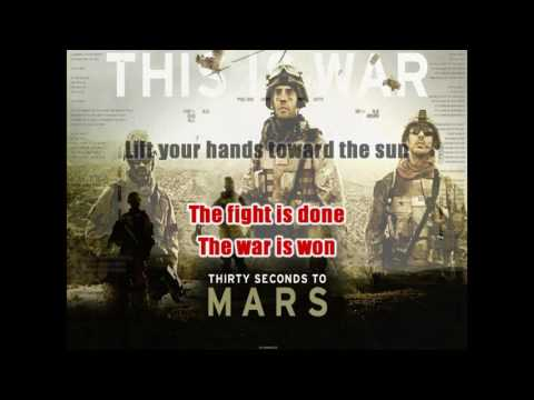 30 Seconds To Mars -  This Is War (Karaoke)