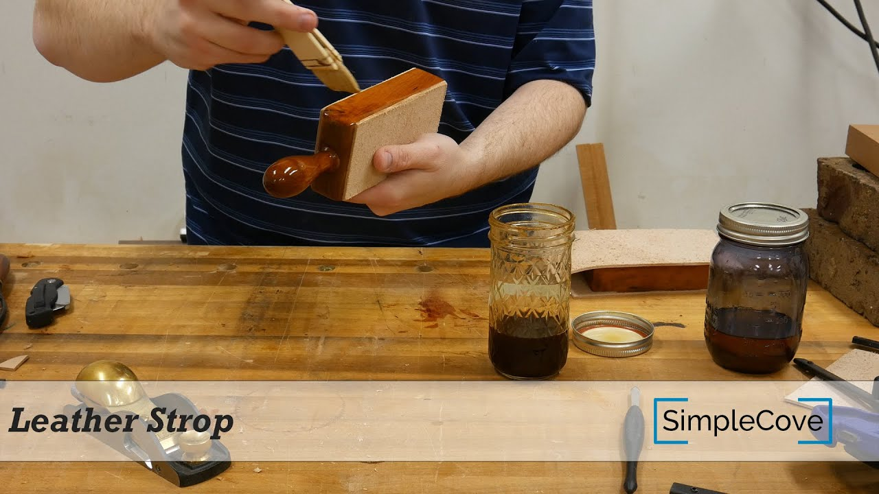 how to use a leather strop