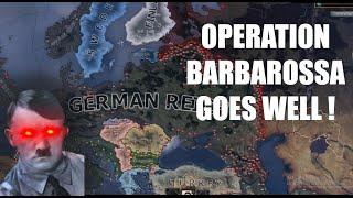 Successful Operation Barbarossa - hoi4 timelapse