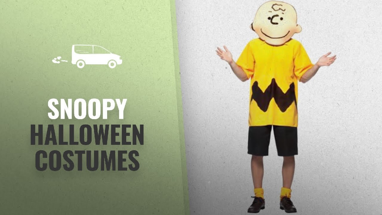 our favorite snoopy halloween costumes [2018]: charlie brown