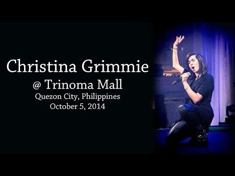 Christina Grimmie - Quezon City Trinoma Mall  2014