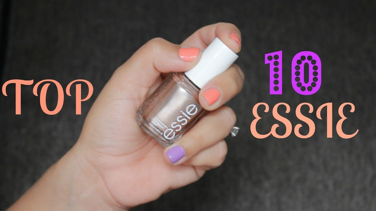 My TOP 10 Essie Nail Polishes - YouTube
