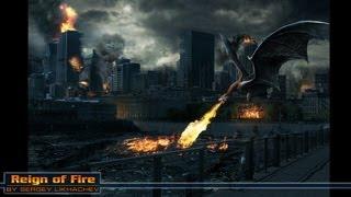 Reign of fire / Власть огня  - SpeesArt Photoshop by BATKYA
