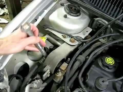 Dodge Top Motor Mount Strut Replacement - YouTube