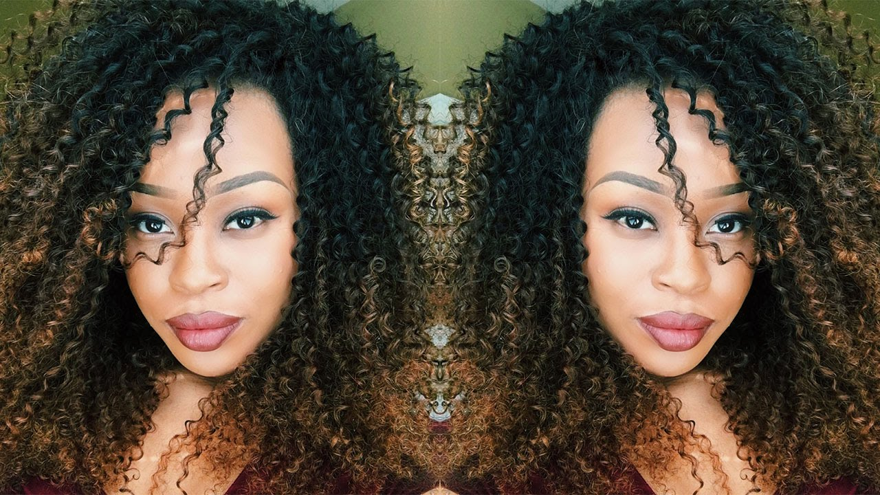 Dyeing And Maintaining Kinky Curly Hair