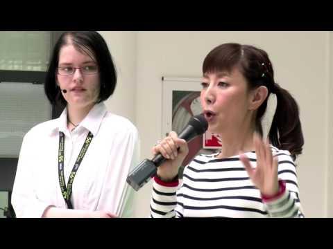 56th Zlín Film Festival – Keiko Toda – workshop Staň se dabérem (Be a Voice Actor!)
