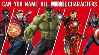 Download Can You Name All Marvel Characters? Mp3 and Videos