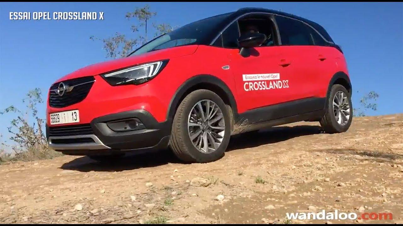 Essai De L Opel Crossland X
