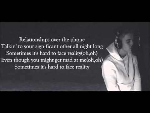 Justin Bieber   Hard 2 Face Reality Lyrics