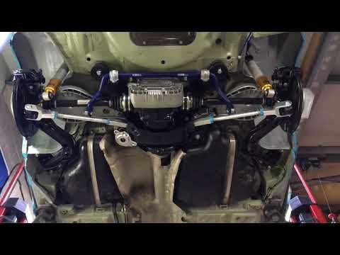 BMW E46 M3 Rear Axle Suspension Refresh Example