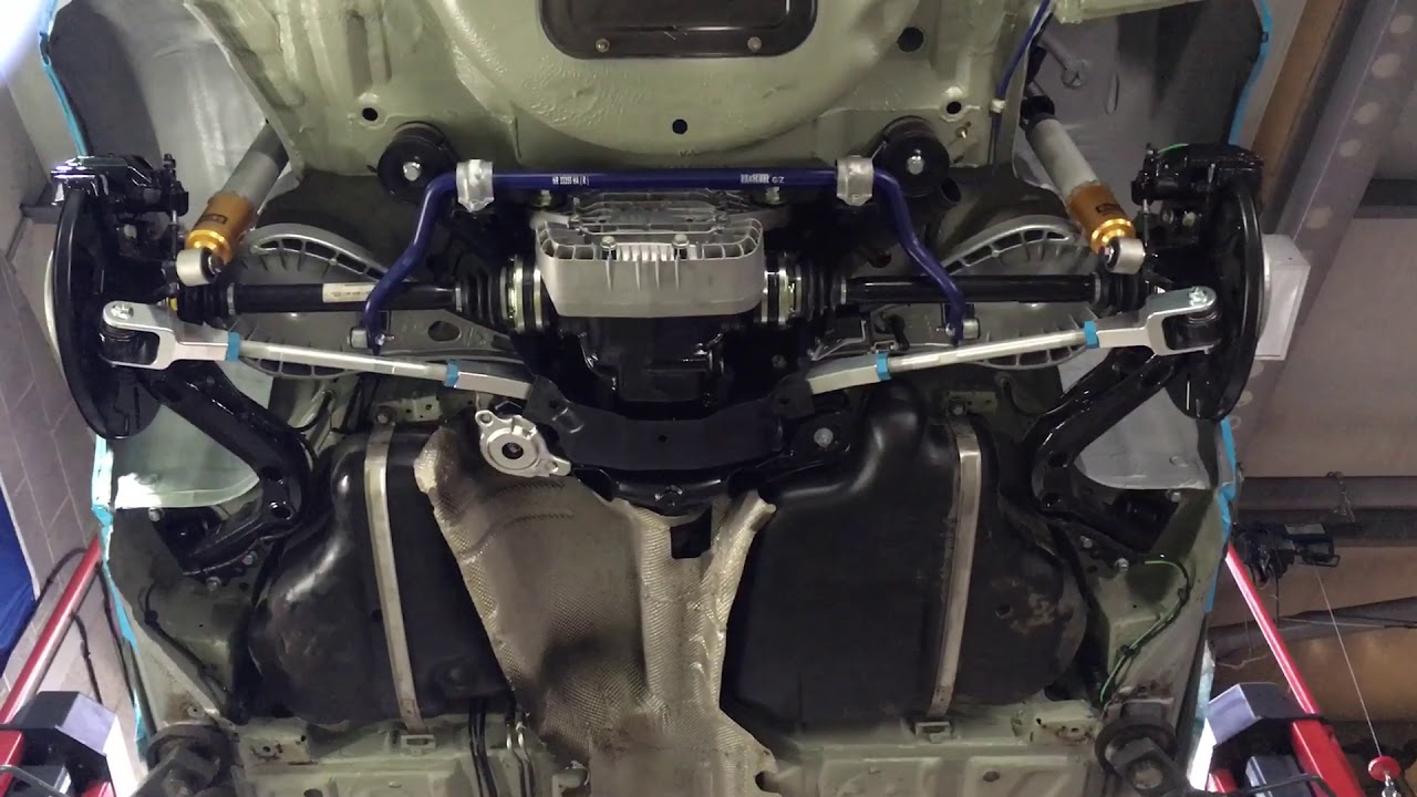 Bmw E46 M3 Rear Axle Suspension Refresh Example Youtube