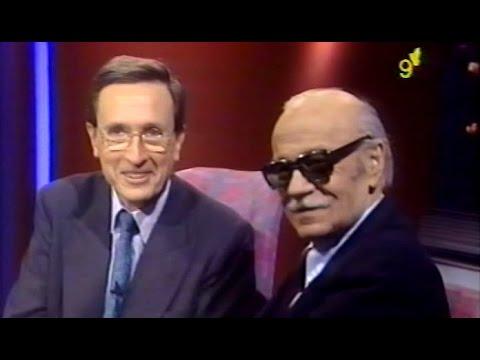 """Sabato en """"Hora Clave"""" con Grondona - Canal 9 - 1993"""