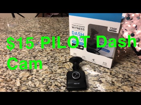 $15 PILOT Dash Cam *hell i will try it*