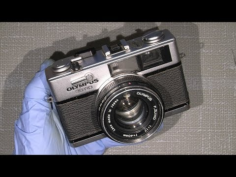 Working With Olympus 35 RD  Sticky Shutter Blades And Other Details Disassemble Part