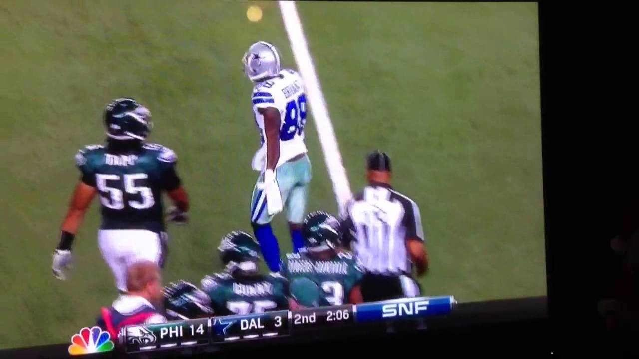 Dez Bryant One Handed Catch Vs Eagles Week 13