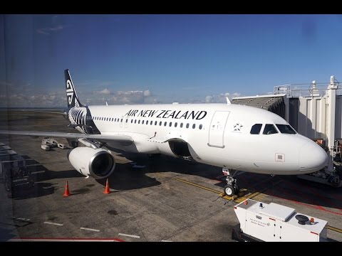Air New Zealand - Queenstown (ZQN) to Auckland (AKL) - A320 Flight Review