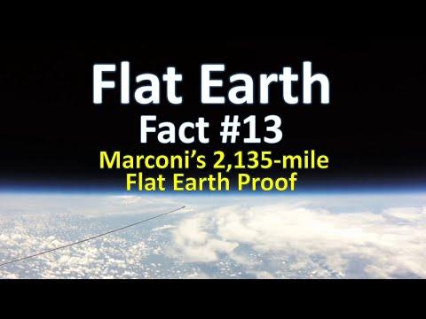 Flat Earth Fact #13 - Marconi's 2,135-mile Flat Earth Proof