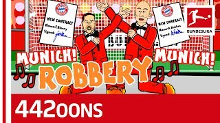 Robben + Ribery = Robbery – The Greatest Duo Ever Seen – Powered by 442oons