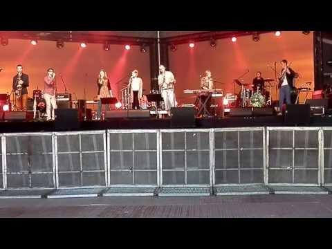 Estonian folk band Puzle at Rocksummer 2013