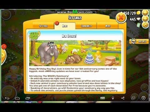 Hay Day Gameplay | New Update The Wildlife Sanctuary part 1