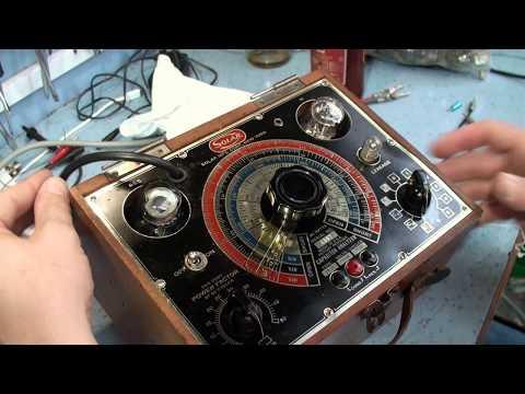 Solar capacitor analyser CB-2U Circa 1945