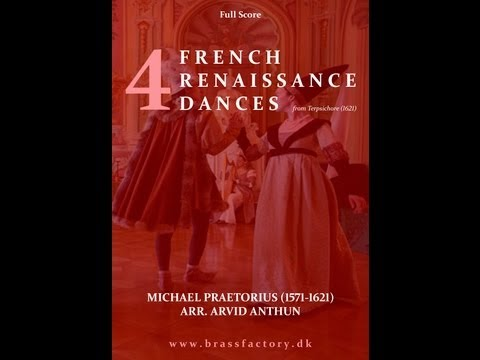 4 French Renaissance Dances - Praetorius (1612) Brass Band