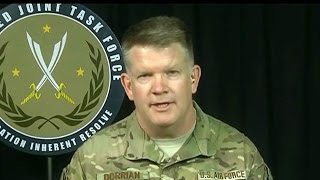 Defense Department briefing from Baghdad. April 26, 2017.