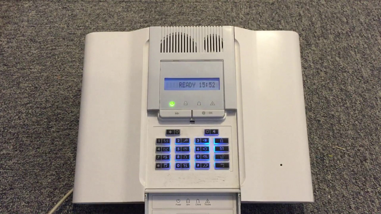 Security Alarm Now >> How to change the code on a Visonic Powermax Complete ...