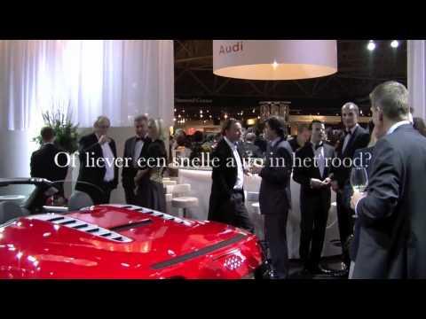 Samsung S9110 Watchphone Giorgio Armani Smartphone introductie op de Miljonair Fair
