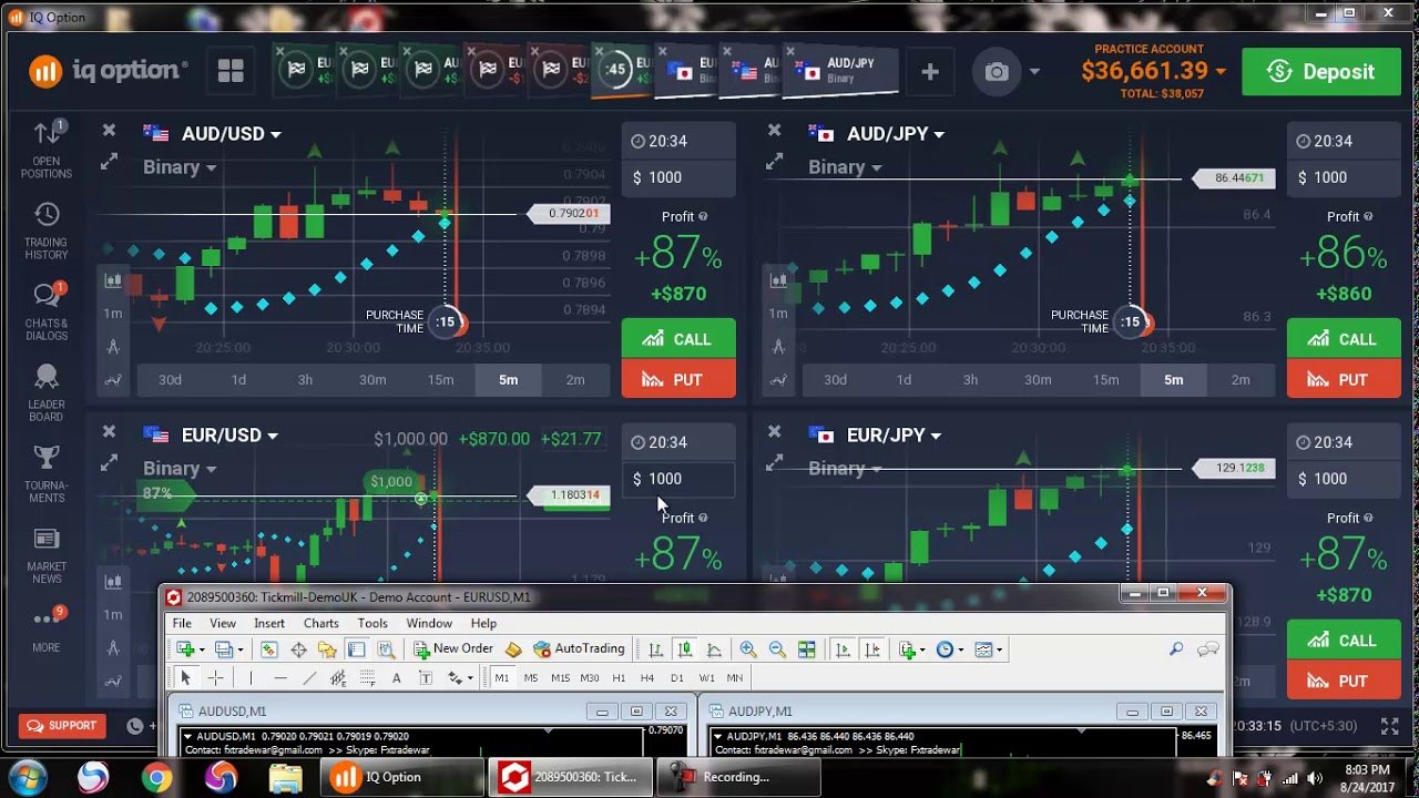 Binary options mt4 signals