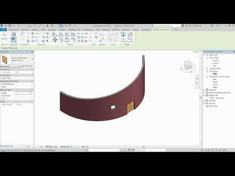 Revit Tips & Tricks #2 - Several Different Ways to Create A Curved, Sloped Wall: Pros & Cons