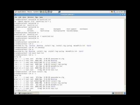 The Linux Foundation Video Site:: Basic Commands on Navigati