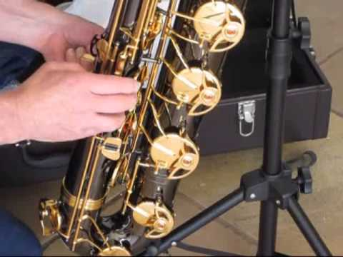 Taishan Winds baritone sax - straight out of the box