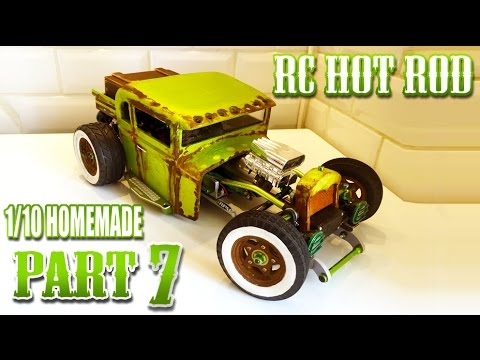 RC HOT ROD FORD 32 HOMEMADE [PART 7/8]