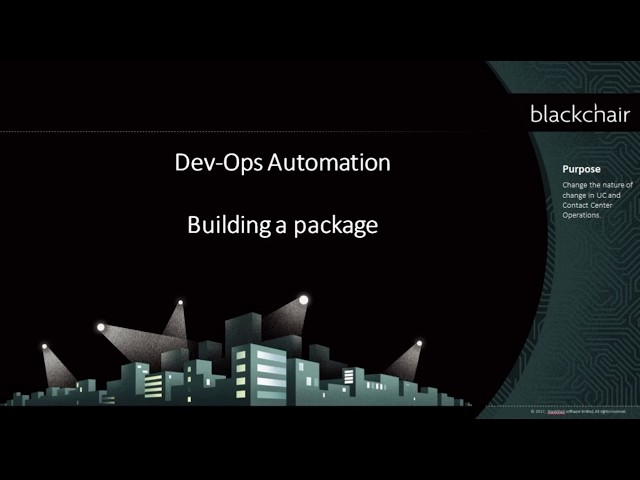 Dev Ops - Building a Package