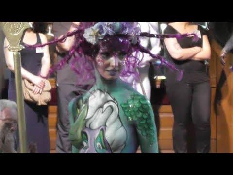 Imaginales – Rencontre de Bodypainting à Epinal