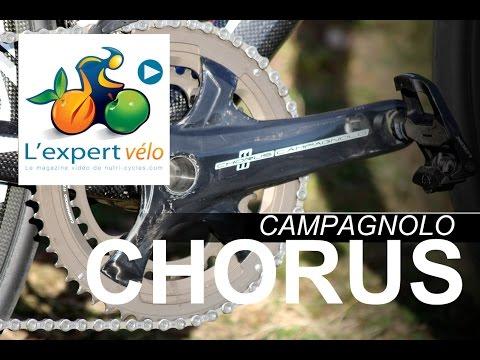 Image de la vidéo Test groupe Campagnolo Chorus et roues carbone Bora One