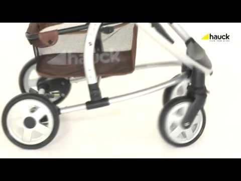 hauck malibu babyschale mit fahrgestell youtube. Black Bedroom Furniture Sets. Home Design Ideas