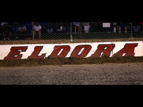 Eldora Speedway 360 Sprint Cars - 30 laps in the slick - Iracing