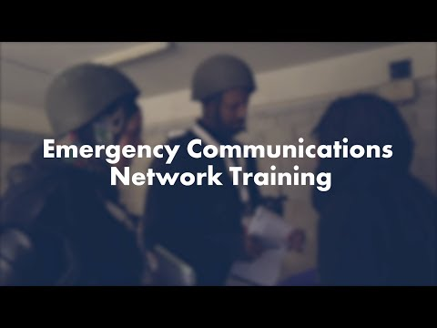 WHO Emergency Communications Network Training