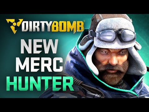 Dirty Bomb: NEW MERC Hunter