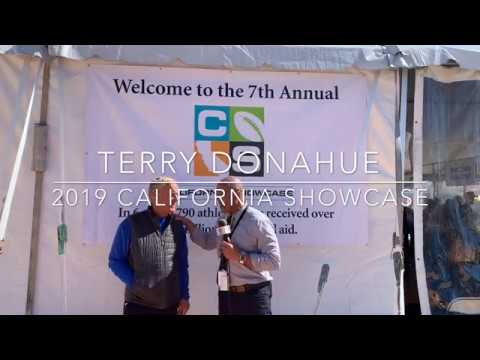 COACH TERRY DONAHUE - 2019 CALIFORNIA SHOWCASE - LIVE HIGH SCHOOL FOOTBALL BROADCAST & LIVE STREAM