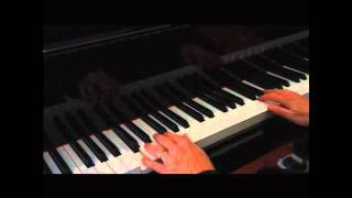 Left Hand Piano Rhythm Pattern for Ballads (1-5-1-2-3)