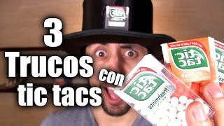 Ratti-Tips: 3 Trucos con Tic Tacs - ChideeTv