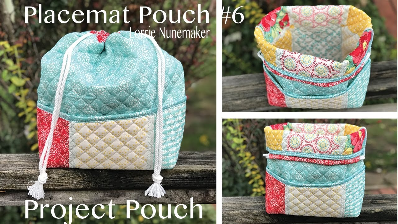 Placemat Pouch Version 6 - The Project Bag