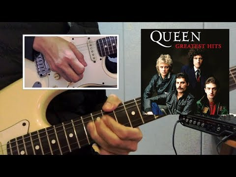 We Are The Champions - Guitar solo lesson & tutorial [60% SPEED] Guitar Soldier