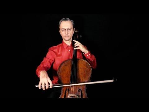 J.S.Bach - Arioso Cantata BWV 156 Cello Part Video